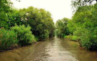 Amazonka...plavební kanál u Strážnice
