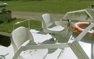 Vnější kormidelna lodě Viking 1000