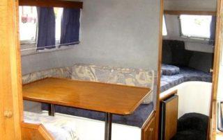 Salon lodě Viking 800