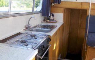 Kuchyň lodě Viking 1000