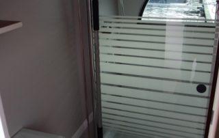 Prosklené interierové dveře lodě Sarah