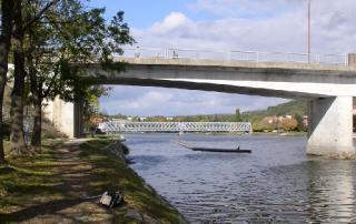 Mosty v Týně nad Vltavou