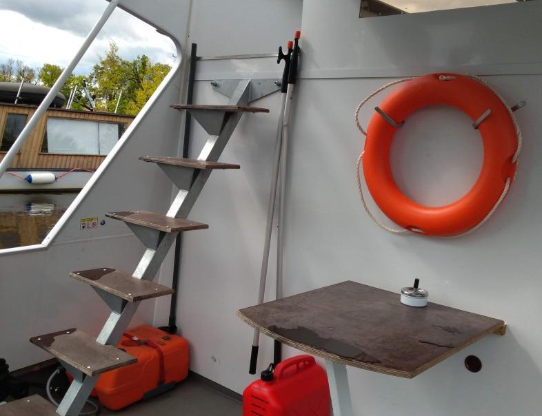 Výstup na horní palubu