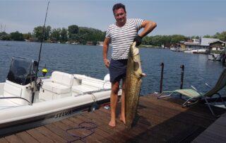 Rybaření v Jarovské zátoce